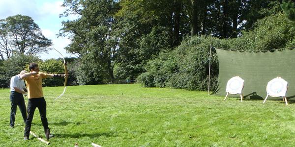 Archery at Trelissick Gardens