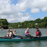 Birthday Canoe trip on the Fal