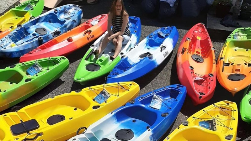 New sit-on-top kayak fleet